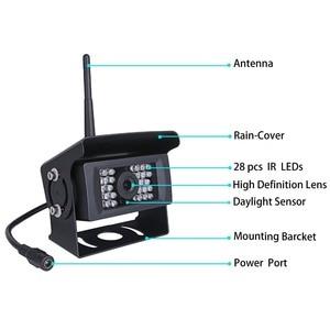 Image 3 - GreenYi kablosuz geri görüş kamerası kamyon, RV,Camper, römork. WiFi araç arka görüş kamerası çalışmak ile iphone veya android cihazlar