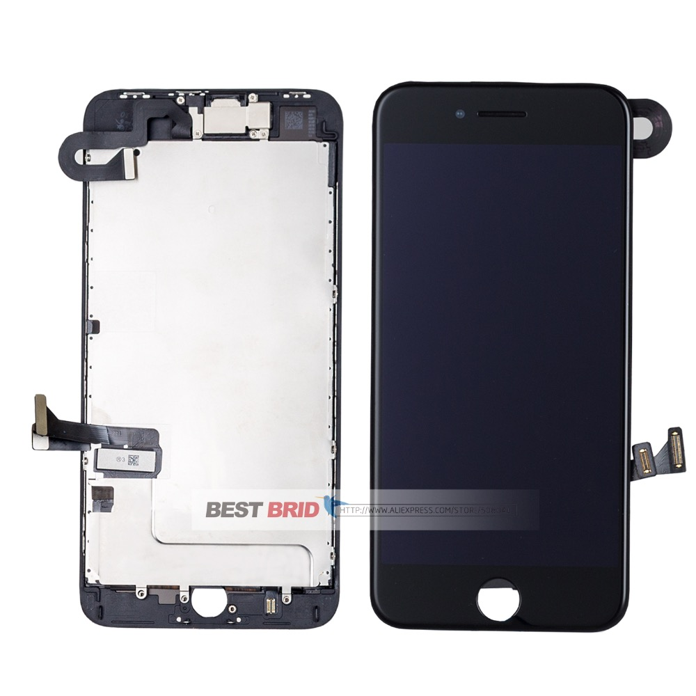 1Pcs/lot  For iPhone 8 plus 5.5  Lcd  Display Completed Full Set Digitizer Assembly Touch Screen +Front Camera+Earpiece Speaker-in Mobile Phone LCD Screens from Cellphones & Telecommunications    1