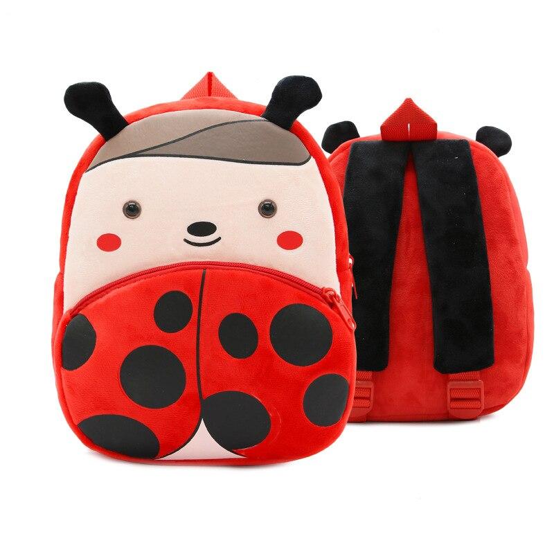 Мультфильм Детские сумки плюшевые Школьные сумки животных, дизайн-Детский рюкзак прекрасный дизайн мини-конфеты сумки для детского сада мальчиков лучший подарок