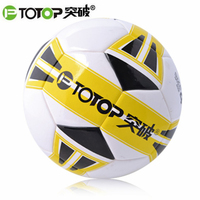 PTOTOP Professional PU Kids Youth Students Standard Size Anti Slip Match Training Practice Competition Football Soccer