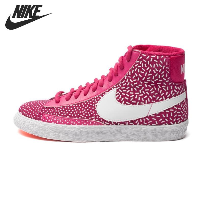 Prix pour D'origine Nike WMNS BLAZER MID IMPRIMER femmes de Planche À Roulettes Chaussures 536698-603 Haute-top sneakers