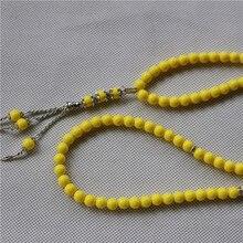 99beads 10pcs / lot 8mm пластичные мусульманские шарики молитвы свободная перевозка груза смешанный цвет