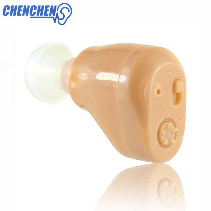 Iç kulak işitme cihazı şarj edilebilir cihazı işitme ses amplifikatörü ab abd Plug görünmez Audiphone kulak yardımları bakımı