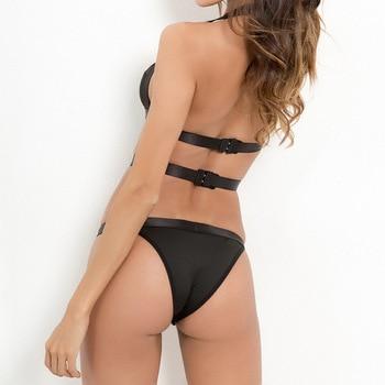 Sexy Lace Bodysuit Women Shoulder Bandage 1
