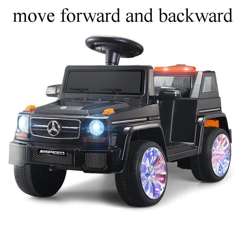 2 em 1 passeio bonde do carro das crianças em brinquedos da máquina escavadora música luz quatro rodas passeio da máquina de construção no carro dos brinquedos para crianças das crianças - 2