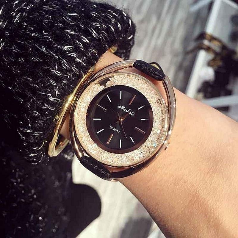 Online buy wholesale swarovski crystal watch from china swarovski crystal watch wholesalers for Crystal ladies watch