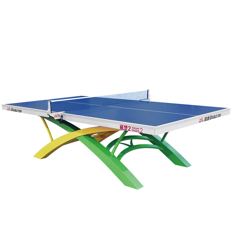 Double Fish Official Ping Pong Table Tournament Volant Dream 2 For International Competitions 2016 ITTF World Tour Grand Final