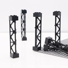 City Military Brick Stents Column 2x2x10 Support Girders 95347 Car Accessories Toy LegoINGlys Technic Parts Bulk Building Blocks(China)
