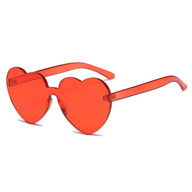 Ladies Sunglasses Green Red Oversized Frame Gradient Lens SG0001