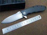 KESIWO 0562CF Ball Bearing Folding Knife Titanium + CF Xử Lý CPM-20CV lưỡi dao ngoài trời túi EDC Chiến Thuật knife Top Chất Lượng