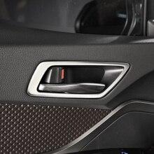 Jameo Авто Нержавеющаясталь салона автомобиля Дверная ручка отделка Внутренняя дверь чаша крышка круг Стикеры для Toyota C-HR CHR 2016- 2018