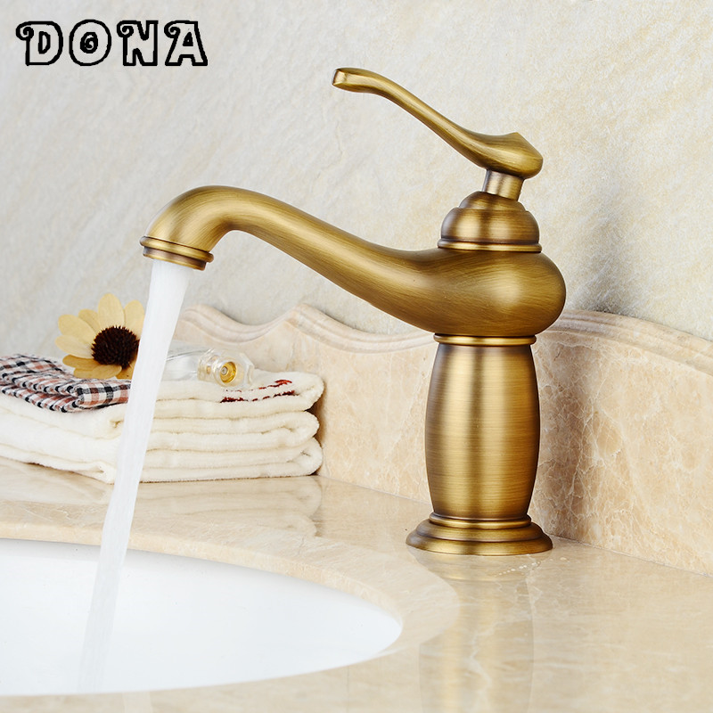 Free shipping Lamp design modern bathroom faucet Brass faucets ...