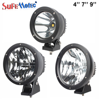 5 7 9 Inch 25W 50W LED Driving Light For Offroad Trucks 4X4 4WD BOAT SUV ATV Spot Work Lights 12V 24V CAR AUTO Fog External Lamp