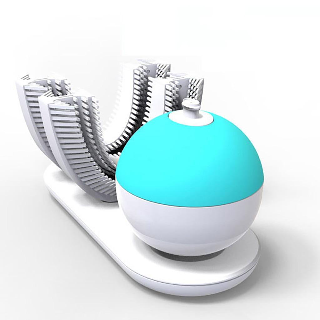 Brosse à dents électrique pour adultes 360 mise à niveau Rechargeable automatique brosse à dents blanchiment des dents FDA/IPX7 charge sans fil F4.11