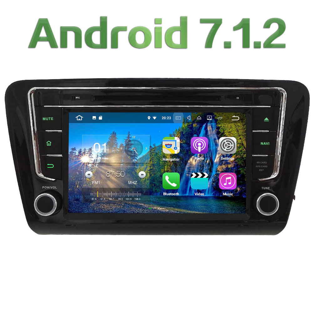 8 Android 7 1 Quad Core 2GB RAM Audio 3G 4G SWC Multimedia Car DVD Player