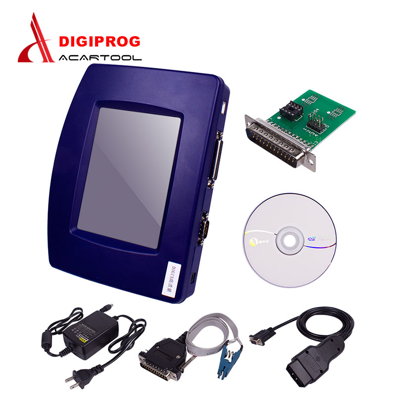 Prix pour DHL LIVRAISON Gratuite Digiprog 3 OBD Vente Chaude En Stock Digiprog III Avec OBD2 Câble Support multi-langues Digiprog3 OBD