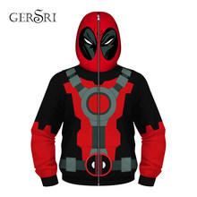 Gersri 3D cool printed hero superman hoodies kids boy new spring winter hooded cute tops for children small size(China)