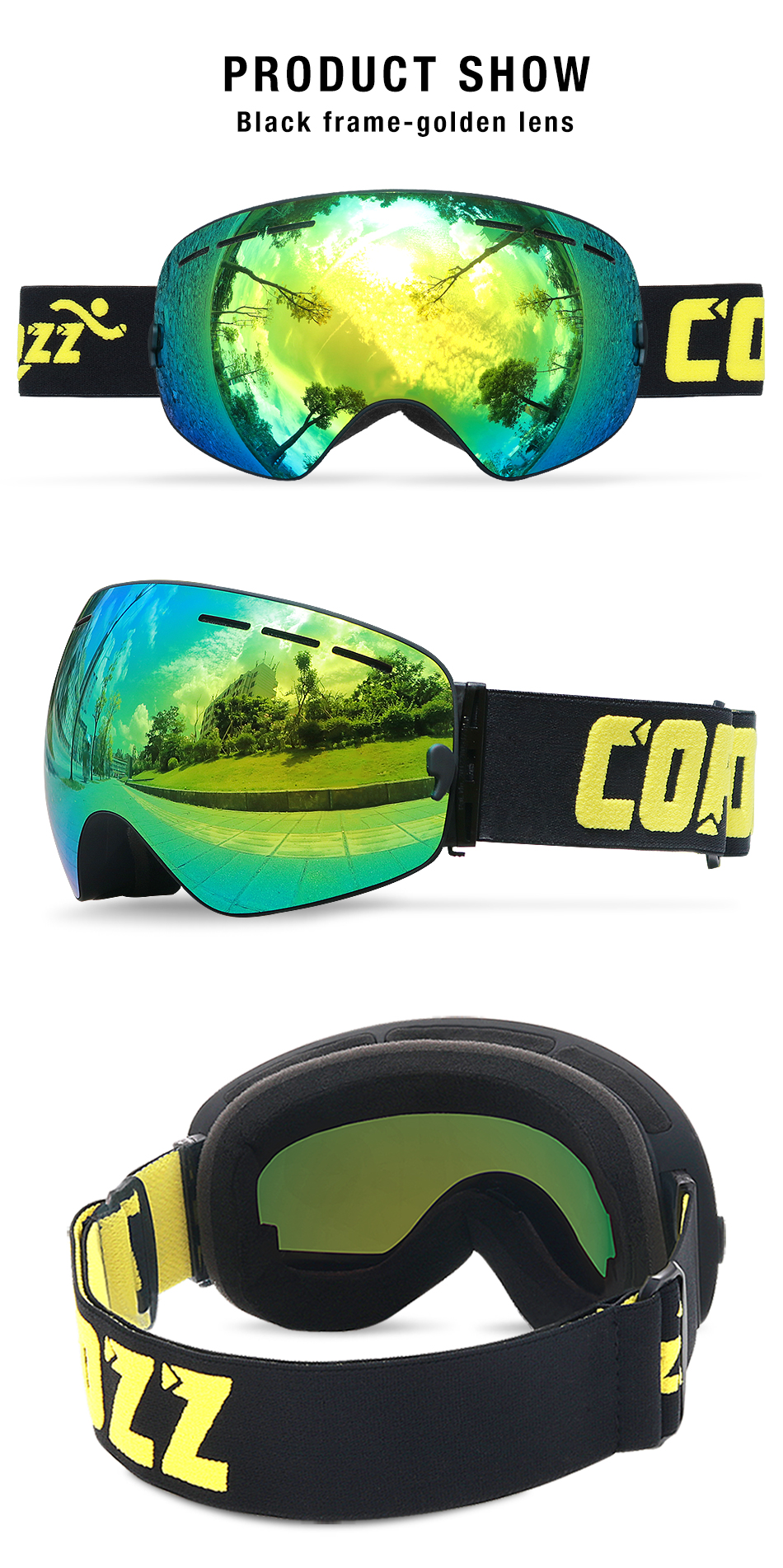 goggles parts