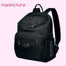 Фотография Happicture Designer Diaper Bag Backpack Mother Baby Care Nappy Changing Bag Large Capacity Mommy Maternity Bag for Stoller