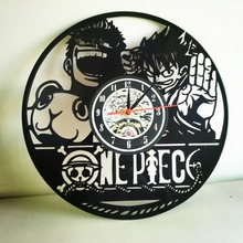 One Piece Vintage Wall Clock