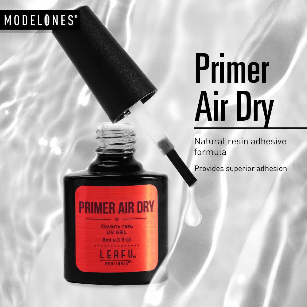 Modelones รองพื้นเล็บใหม่ผลิตภัณฑ์ Primer เล็บอะคริลิค-Acid Primer ไม่มีกรด Air แห้ง Del Lacquer ใช้ก่อน BASE Coat