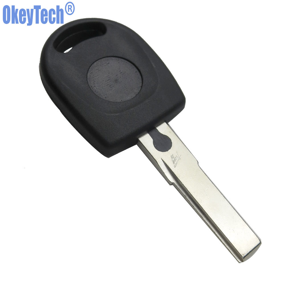 Image 3 - OkeyTech 10PCS/LOT Blank Car Remote Key Shell For Volkswagen (VW) B5 Passat Transponder Key HU66 Blade Free Shipping-in Car Key from Automobiles & Motorcycles