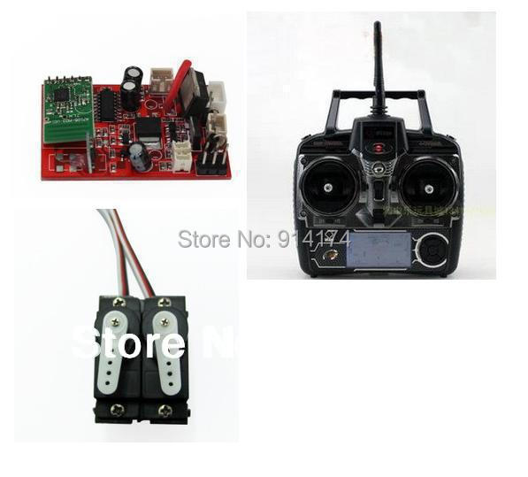YUKALA  v913  2.4G  4 channels rc  helicopter spare part kits  2.4G receiver +2.4G remove controller +servos yukala yukala free shipping v912 31 tail motor set spare parts for v912 4ch single blades radio control rc helicopter model