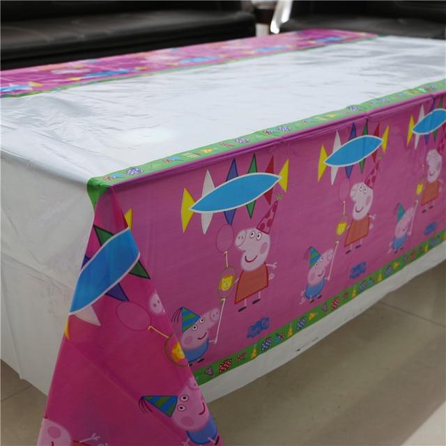 Hot Party supplies 1pcs Cartoon Little Pig table cloth theme party