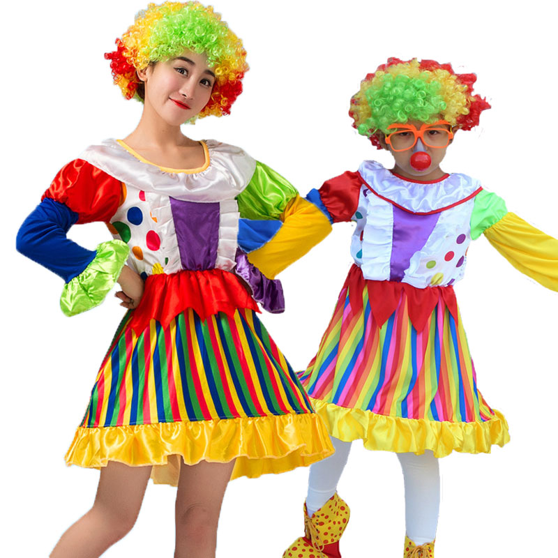 Halloween Carnival Party Costumes Mom and Girl Circus ...