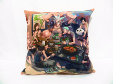 One Piece Double sided printed Pillow case polyester