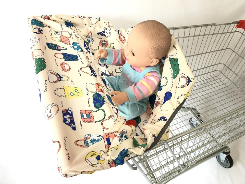 2в1 чехол на колесиках/Чехол на стульчик для кормления для младенцев и малышей/детский коврик на подушку для супермаркета корзина для покупок