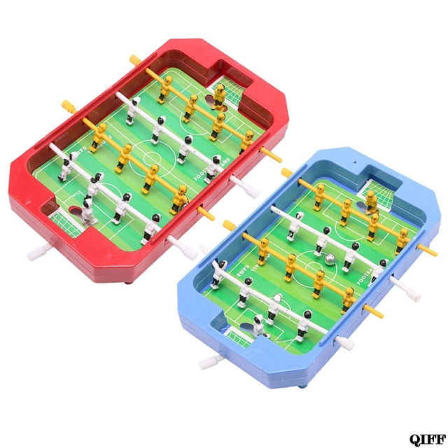 Mini Table Top Football Board Machine Football Table Game Home Match Gift Toy MAR28