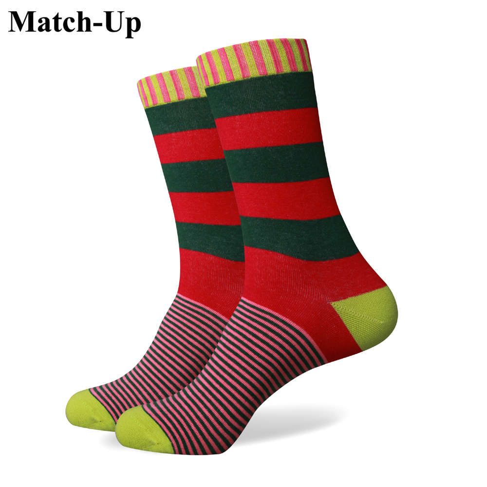 Match-Up  Collection Socks Men  Multicolour Stripe Cotton Sock  Mens Socks Brand