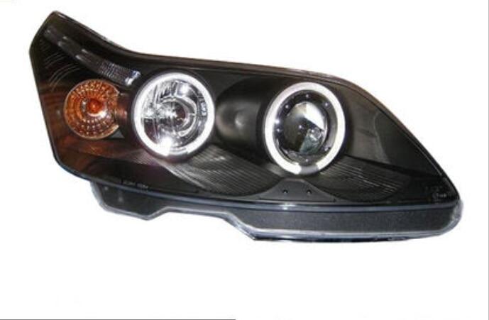2PCS Car Styling Headlights For Citroen C4 2008 2009 2010 2011 Headlight For C4 Head Lamp Daytime Running Light DRL Bi-Xenon HID