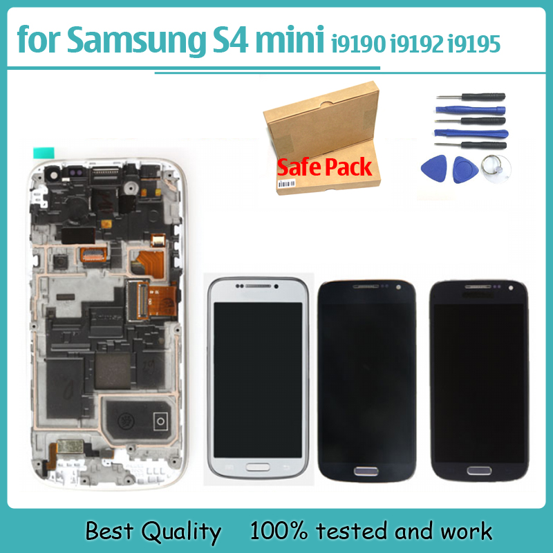 For Samsung Galaxy s4 mini i9190 i9192 i9195 font b Lcd b font font b display