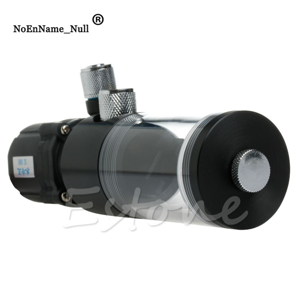 New 140mm Cylinder Water tank SC600 Pump Computer Water Cooling Radiator 600L/H dropshipping computer water cooled accessories 120a water cooling radiator sc600 pump cpu