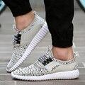 Высокое Качество Весна Лето Brearthable Мужчины Обувь Моды Случайные Сетки Плоские Тренеры Обувь Для Ходьбы Спорт Корзина Homme Zapatillas
