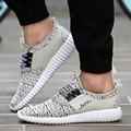 De alta Calidad Primavera Verano Brearthable Men Shoes Moda Casual Malla Plana Entrenadores Zapatos Para Caminar Deportivos Cesta Homme Zapatillas