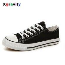 Xgravity Fashion Women Vulcanized Shoes