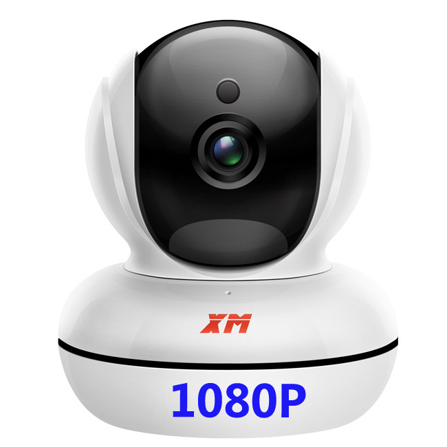 1080P XM Wireless IP Camera Day Night Vision WIFI Indoor Infrared Security Surveillance Dome Camera escam qf003 ip camera 1080p 2mp wireless day night vision p2p wifi indoor infrared security surveillance cctv mini dome camera