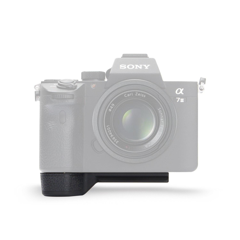 лучшая цена Meike MK-X1EM Metal Bracket Hand Grip for Sony A9 A7MIII a7RIII a7RII a7II a7SII Camera