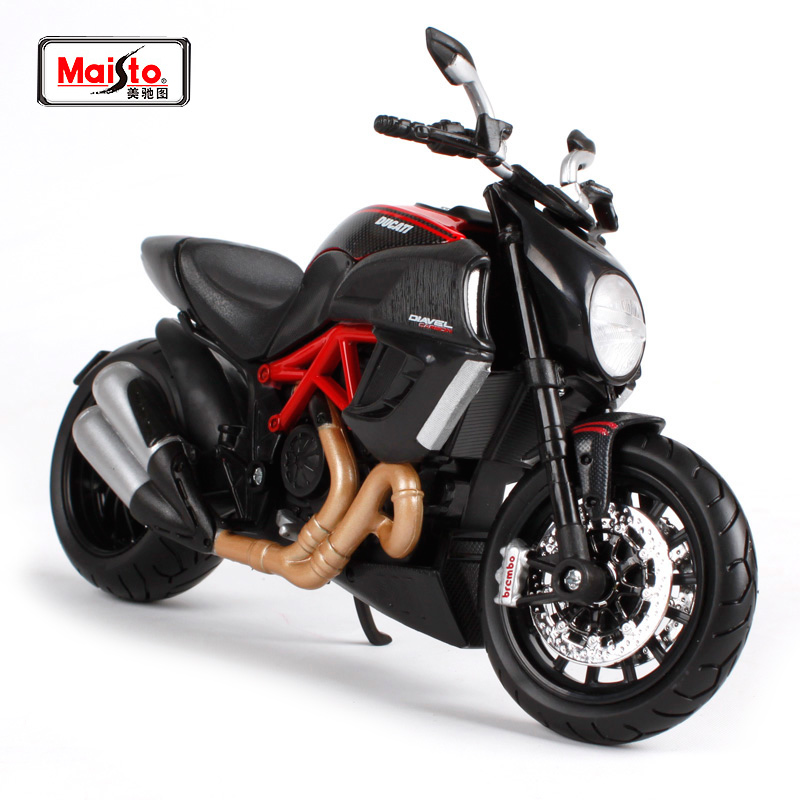 Maisto 1:12 Ducati Diavel Carbon MOTORCYCLE BIKE Model Transporti FALAS S 1000 RR / R 1200 GS 31196