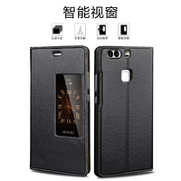 For HUAWEI P9 Plus 5 5 Phone Case Real Genuine Leather Protective Cover Ultra Thin Male