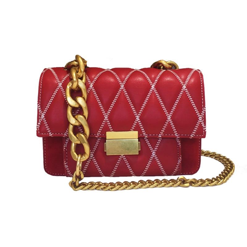 2018 Luxury Diamond Lattice Women Hand Bags Famous Brand Designer Chain Shoulder Messenger Bag Lady Clutch Purse Handbag Channel