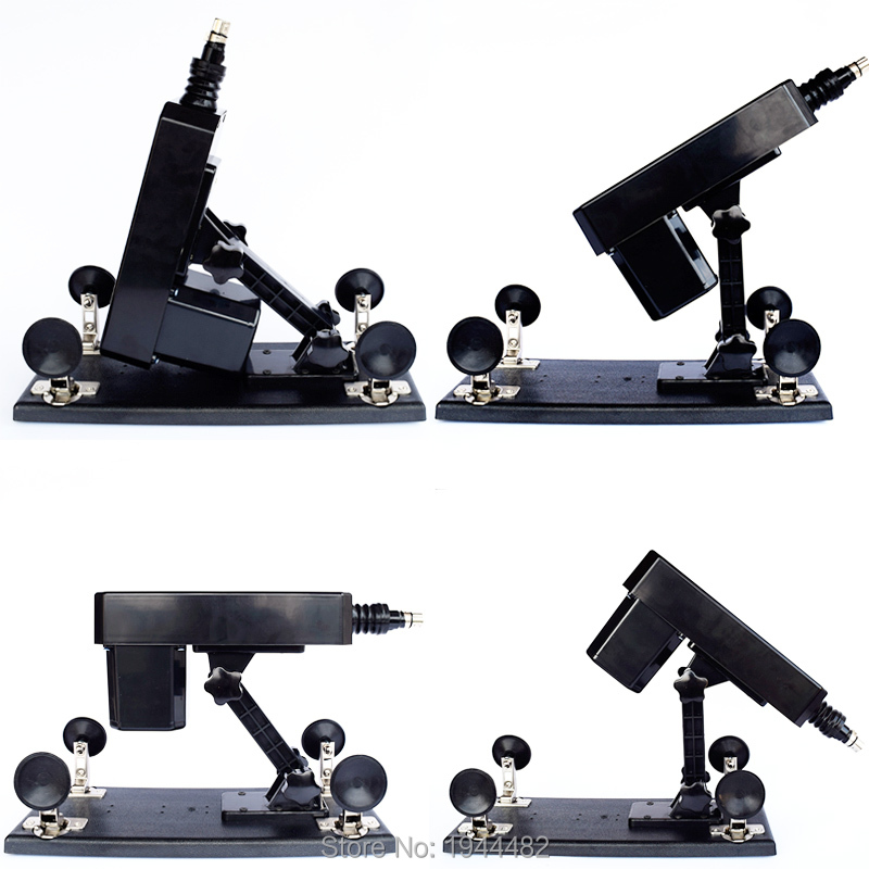 Automatic Sex Machines Gun Female Retractable Masturbation Pumping Gun Adjustable Speeds Vibrators For Women Sex Toys With Dildo