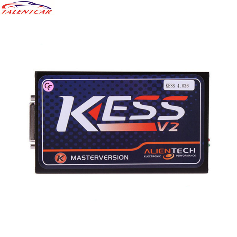 2017 Top Selling Kess V2 OBD2 Manager Tuning Kit  Kess 2 Master Firmware V4.036 Auto ECU Chip Tuning Tool  with Factory Price 2017 online ktag v7 020 kess v2 v5 017 v2 23 no token limit k tag 7 020 7020 chip tuning kess 5 017 k tag ecu programming tool