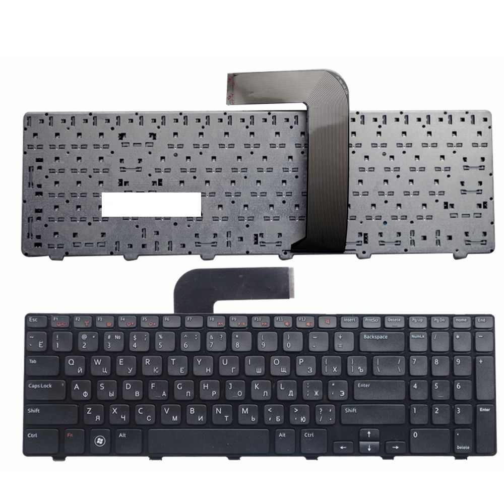 RU Black New FOR DELL N5110 Inspiron 15R Ins15RD-2528 2728 2428 M501Z M5110 M511R N5110 Laptop Keyboard Russian