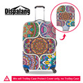 Dispalang Traditional Pattern Print Luggage Protective Covers Apply To 18-30 Inch Trolley Case Elastic Stretch Suitcases Cover