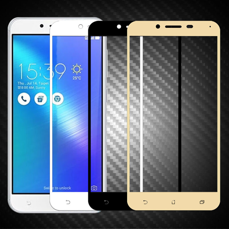 For Zenfone 3 Max <font><b>ZC553KL</b></font> Tempered <font><b>Glass</b></font> Full Cover Screen Protector For <font><b>Asus</b></font> Zenfone 3 Max <font><b>ZC553KL</b></font> Protective Toughened Film image