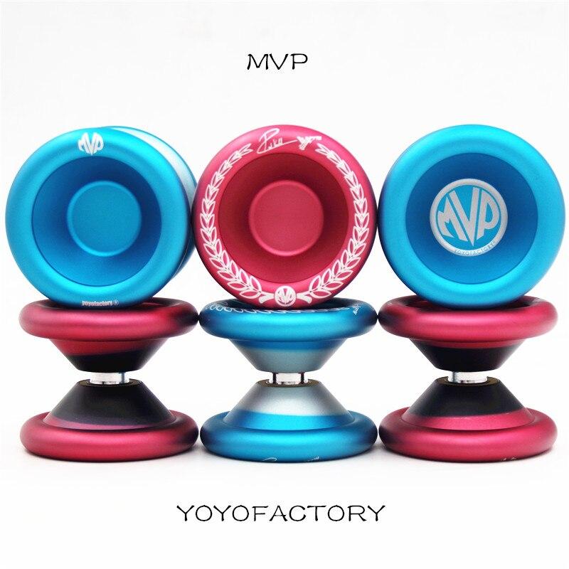2019 New Arrive YYF yoyofactory MVP YOYO Professional Metal YOYO 1A 3A 5A